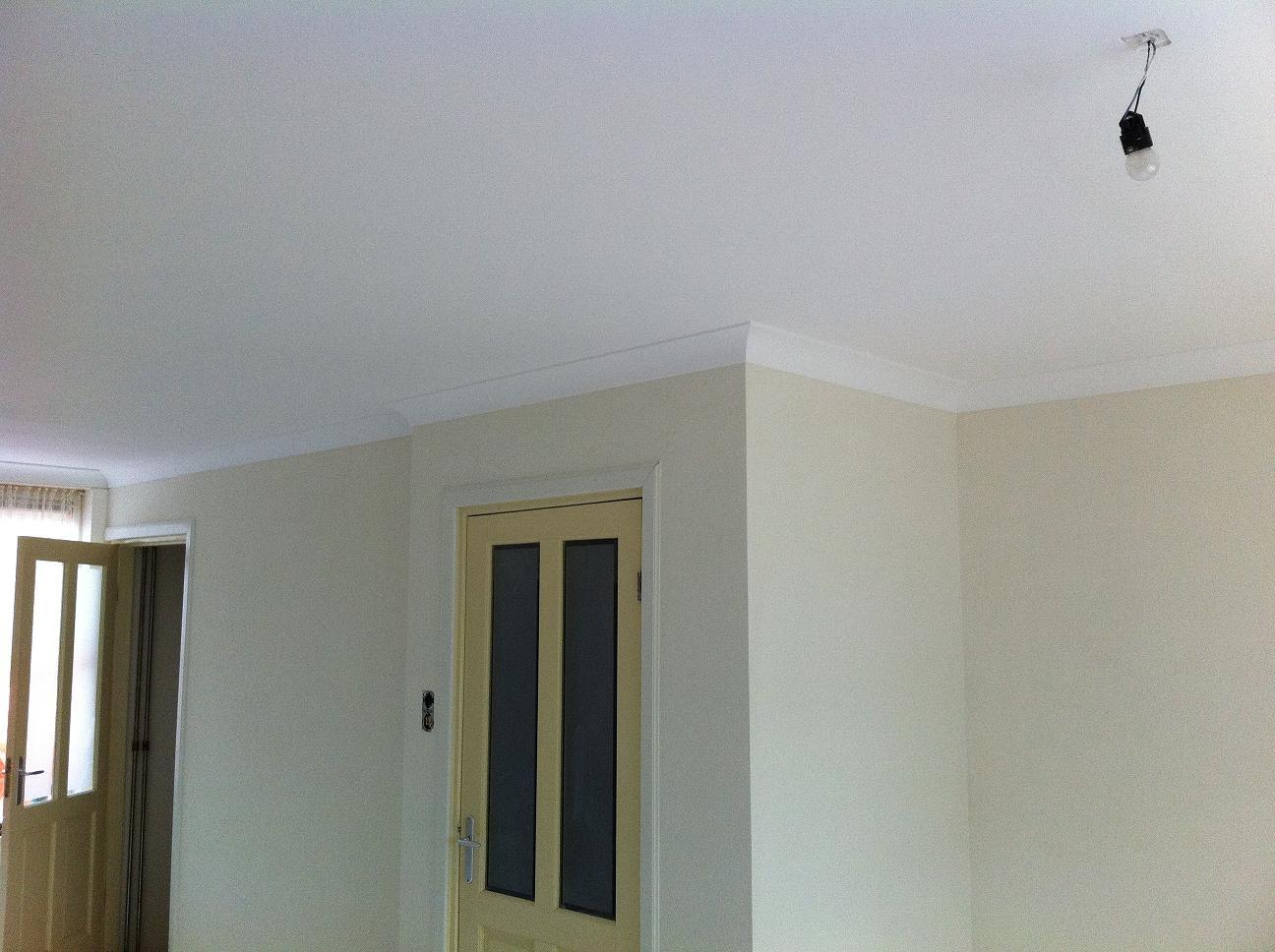 Mooie muren for Plafond sierlijst